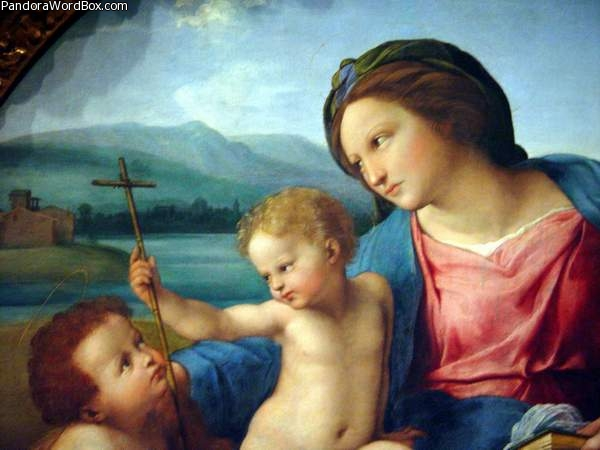 raphael and the alba madonna